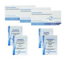 Klassische Massengewinn Pack – Euro Pharmacies – TURINABOL 8 Wochen