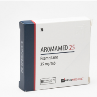 AROMAMED 25 (Exemestan) DeusMedical 25 Tabletten (25mg/Tab)