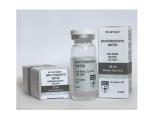 Bakteriostatisches Wasser
