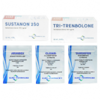 Euro Pharmacies Trockenmassengewinn Pack – Sustanon / Tri-Trenbolon (10 Wochen)