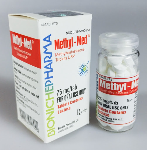 METHYL MED BIONICHE PHARMA METHYLTESTOSTERONE 60TABS