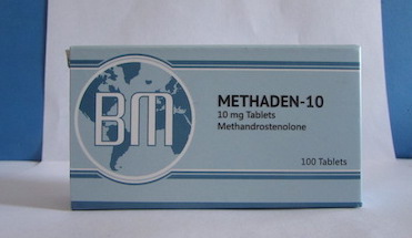 Methaden 10 BM Pharmaceuticals 100 tabs