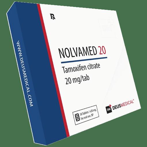 NOLVAMED 20 (Tamoxifen) DeusMedical 50 Tabletten (20mg/tab)