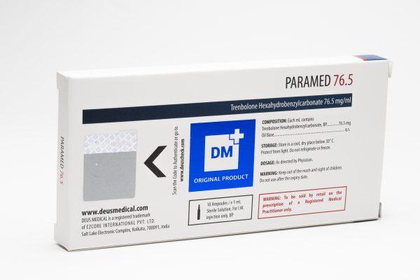 Paramed 76.5 DeusMedical Trenbolone 2