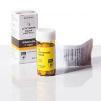 T3 (Liothyronin-Natrium) Hilma Biocare 50 Tabletten (25mcg/ml)