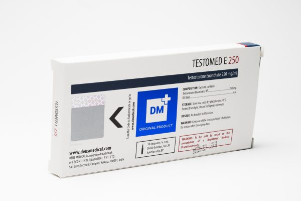 Testomed E 250 DeusMedical Testosterone Enanthate 4