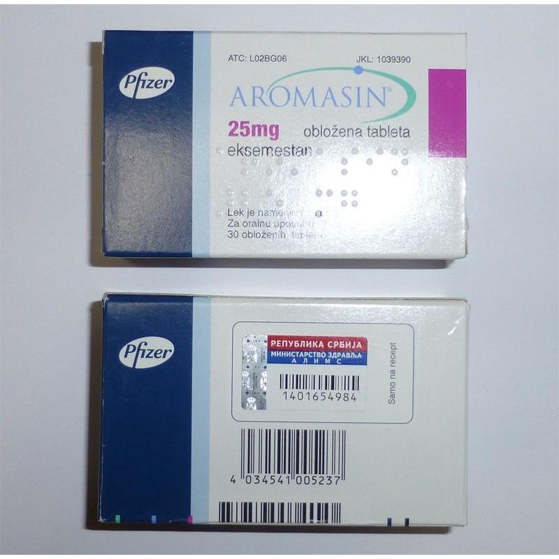 aromasin pfizer 25mg tab 30 tabs