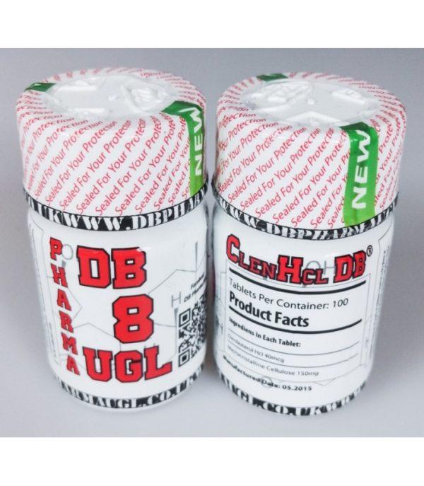 clenbuterol hcg db pharma 100tabs 40mcg tab