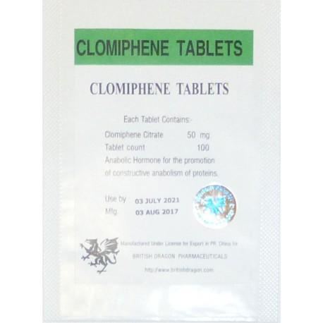 clomiphene tablets british dragon 50mgtab 100 tabs