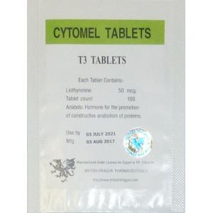 cytomel tablets british dragon 100 tabs 50mcg tab