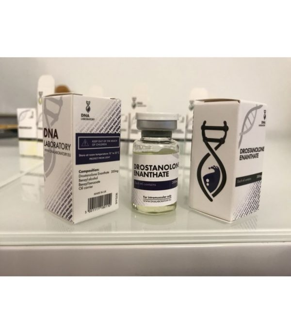 drostanolone enanthate dna 10ml 200mg ml