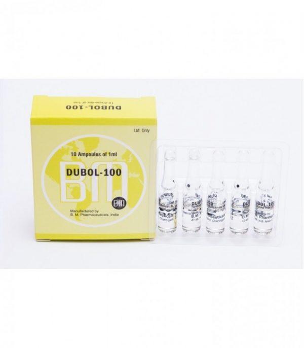 dubol 100 bm pharmaceuticals nandrolone phenylpropionate 12ml 6x2ml vial