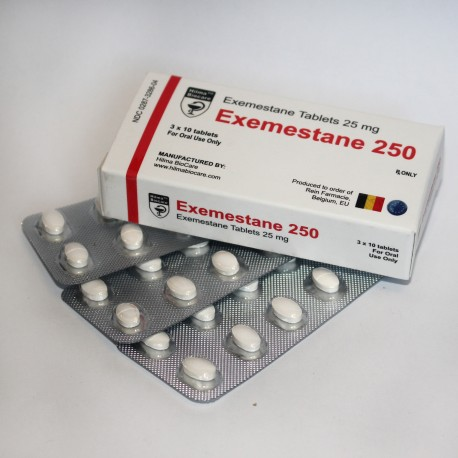 Exemestane 250 (Aromasin) Hilma Biocare 30 tab (25mg/tab)