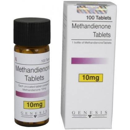 genesis methandienone tablets 10mgtab 100 tabs