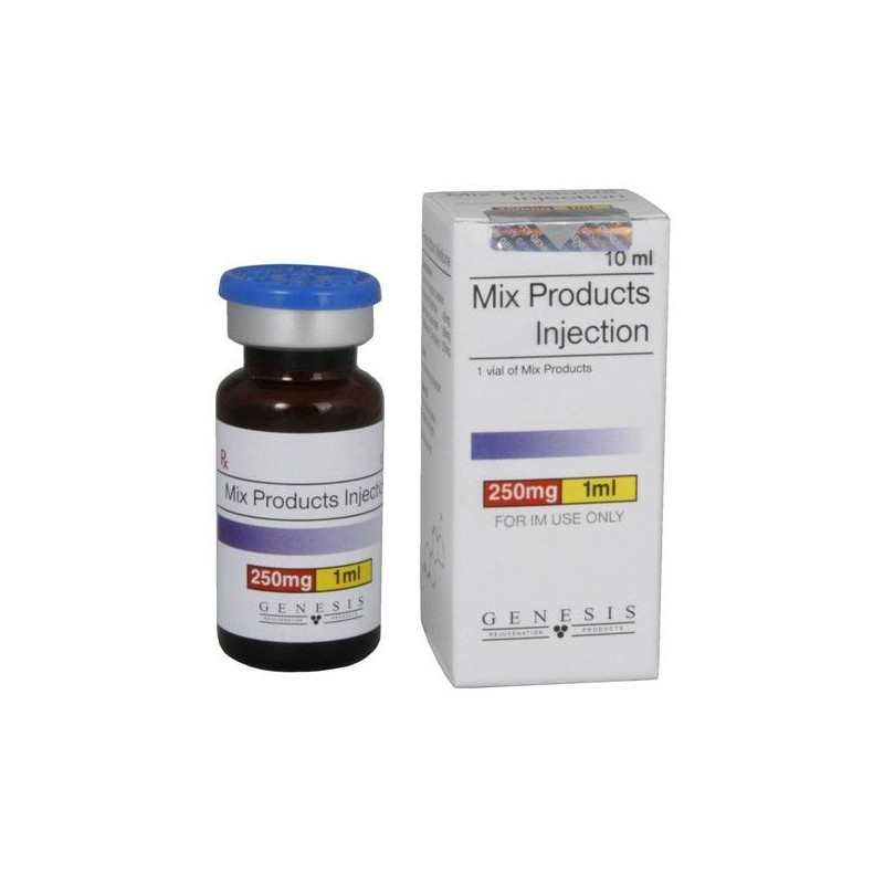 genesis mix products injection 10ml vial 250mg1ml