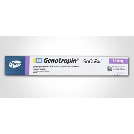 genotropin goquick 12mg pfizer 1x36iu 1 vial