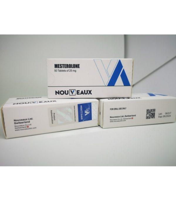 mesterolone proviron nouveaux ltd 50 tablets of 25mg