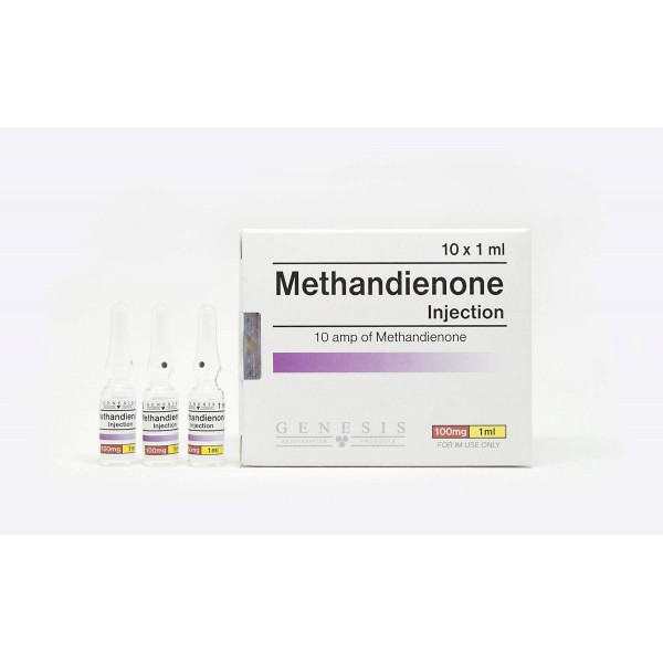 Methandienone Injection Genesis 10 amps [10x100mg/1ml]