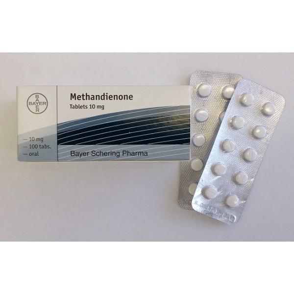 Methandienone Tablets Bayer 100 tabs [10mg/tab]