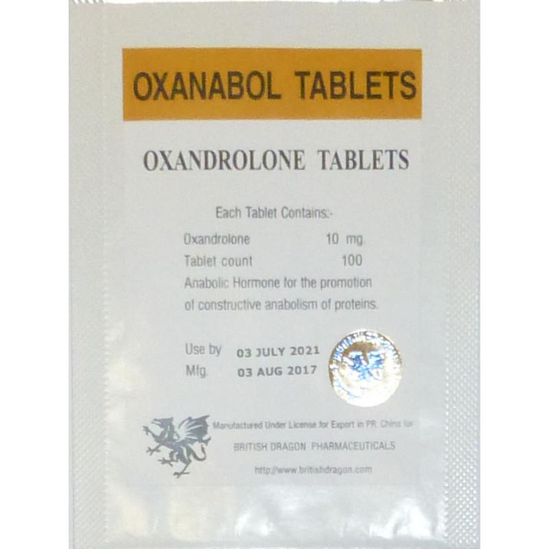 oxanabol tablets british dragon 100 tabs 10mgtab