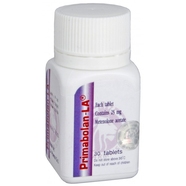 primabolan la pharma 30 tabs 25mg tab 1