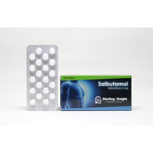 salbutamol sterling knight 100 tabs 2mg tab 1