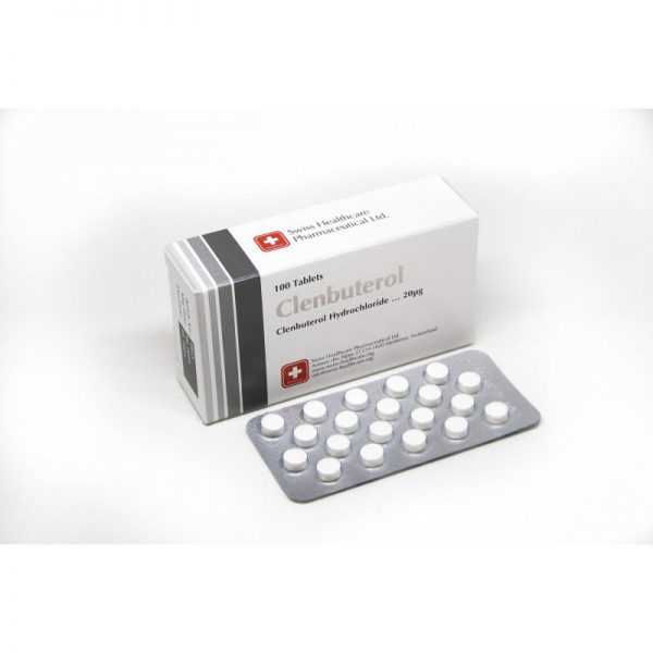 swiss healthcare clenbuterol 100 tabs 002mgtab
