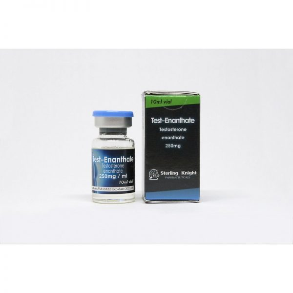 test enanthate sterling knight 250mg 1ml 10ml vial