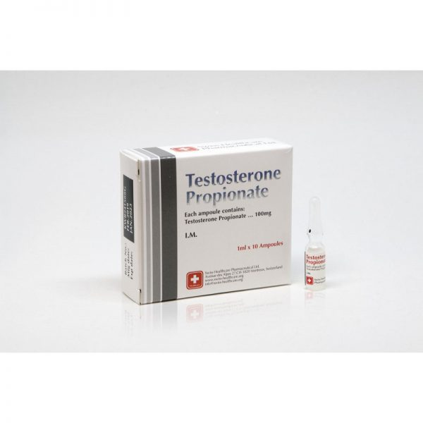 testosterone propionate swiss healthcare 10 amps 10x100mg 1ml 1