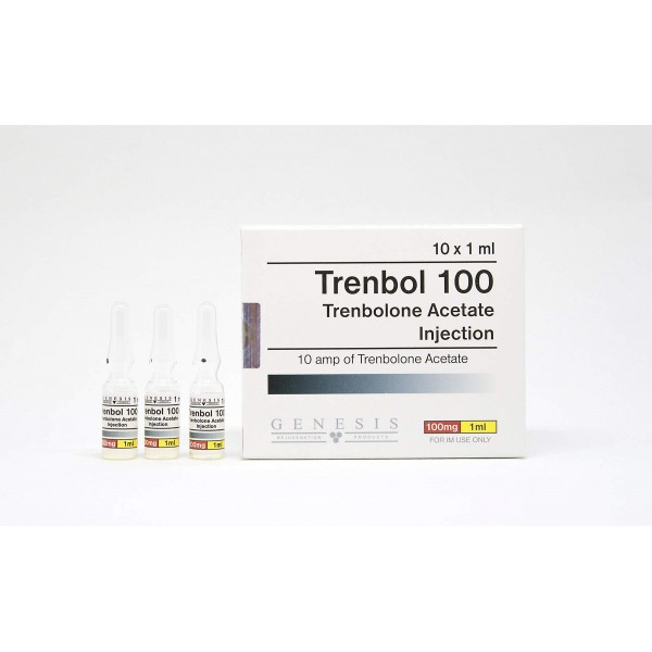 trenbol 100 genesis 10 amps 10x100mg 1ml 1