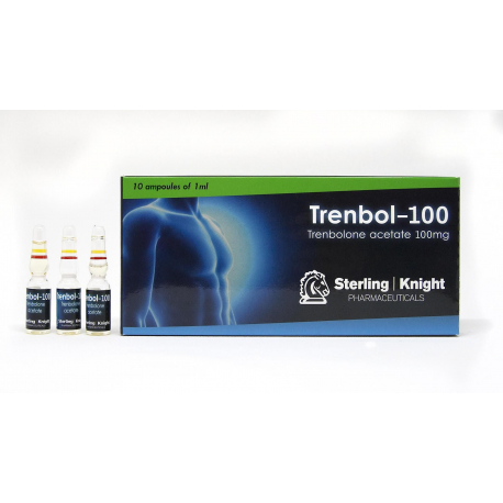 Trenbol-100 Sterling Knight 10 amps [10x100mg/1ml]