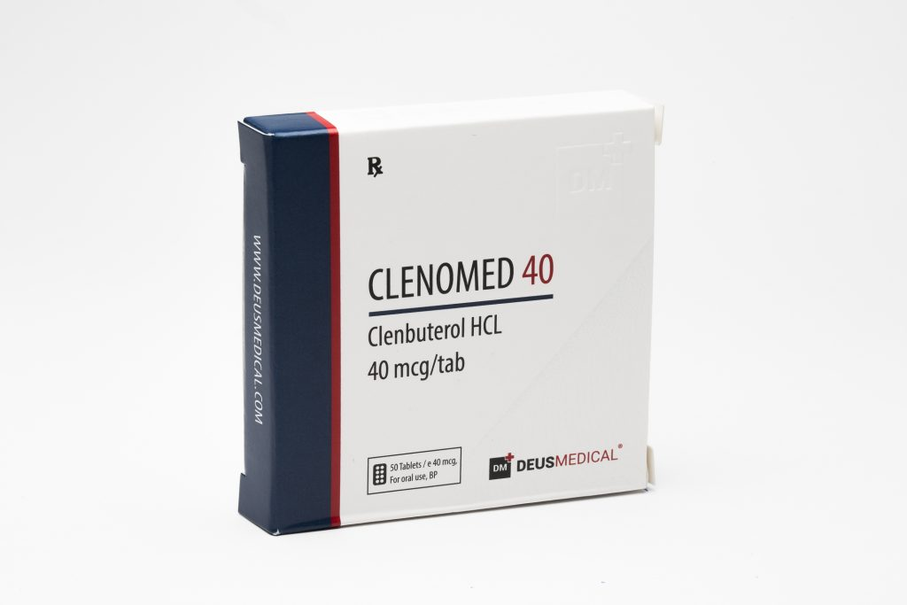 Clenomed 40 Clenbuterol DeusMedical 1