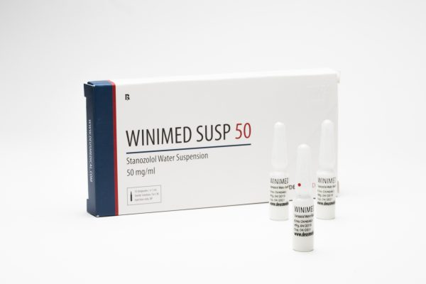 Winimed Suspension 50 DeusMedical Winstrol Depot