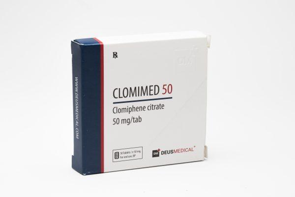 Clomimed 50 DeusMedical Clomid