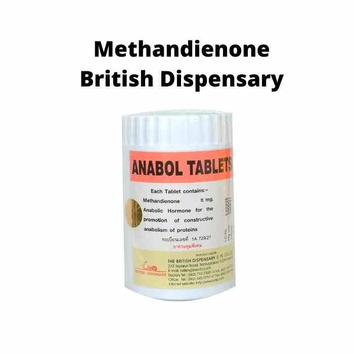 Anabol 5mg British Dispensary