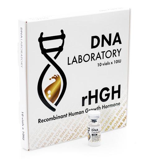 dna laboratory hgh