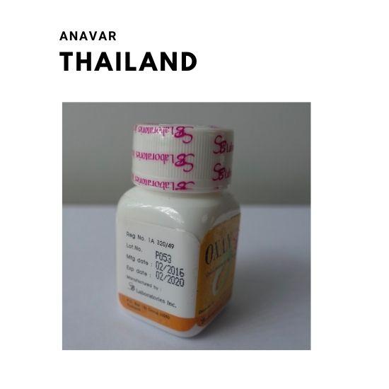 anavar thailand
