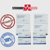 Euro Pharmacies Trockenmassengewinn Pack – Testosteron Propionat / Trenbolon Acetat (6 Wochen)