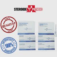 Magermassengewinn Pack – Euro Pharmacies – Enanthate / Stanozolol (8 Wochen)