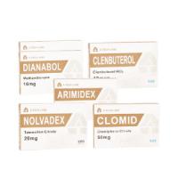 A-TECH LABS Trockene Muskelpackung (Oral) – DIANABOL + CLENBUTEROL + PCT (8 Wochen)