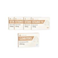 A-Tech Labs Trockenpackung – Orale Steroide – Winstrol / Clenbuterol (10-Wochen-Zyklus)