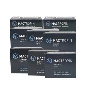Gewichtsverlust Pack - Test-cyp / Anavar - Mactropin - 10 Wochen