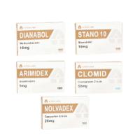 Trockenmasse-Gewinn-Pack – Oral Steroide Dianabol + Winstrol (4 Wochen) A-Tech Labs