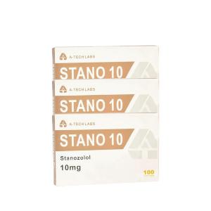 Trockenpackung - A-Tech - Winstrol - Orale Steroide (6 Wochen)